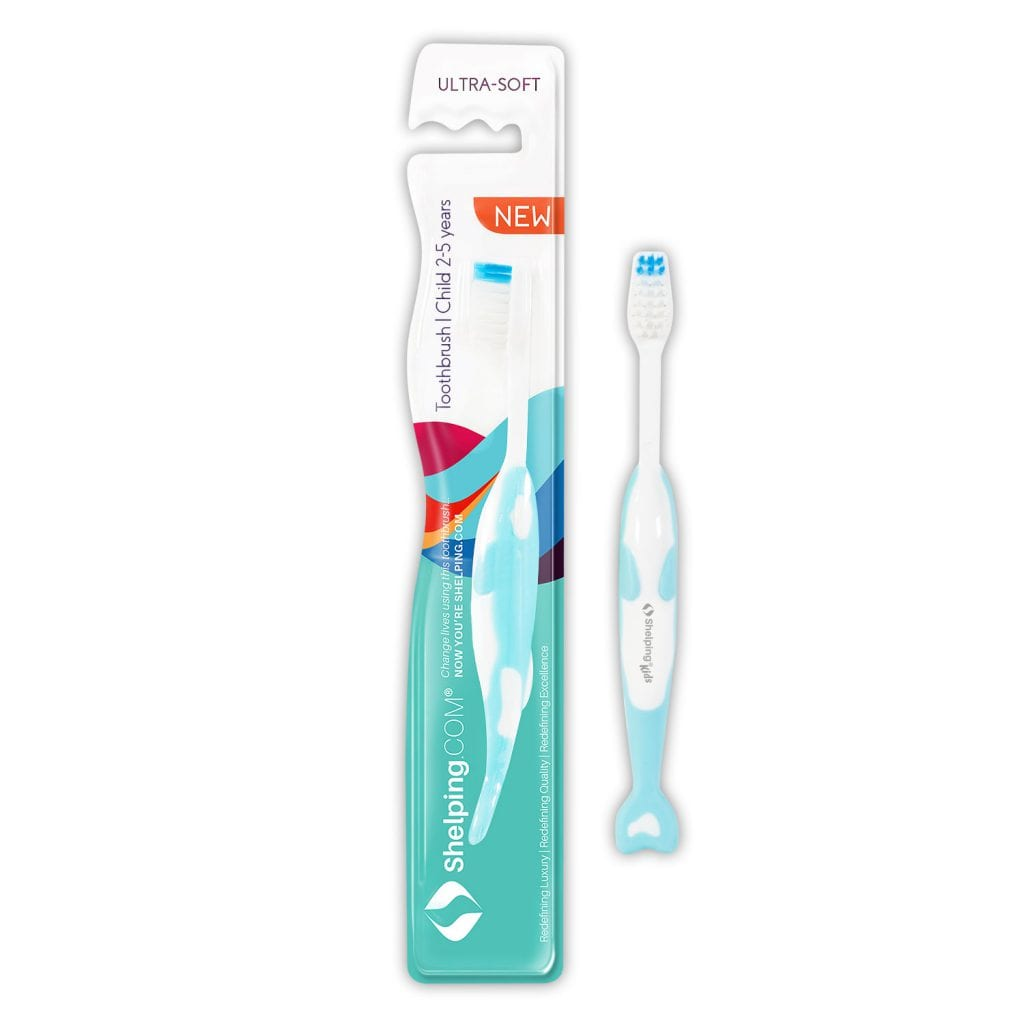 Childs toothbrush 2-5 years old